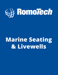Romotech Marine Seats and Live Wells