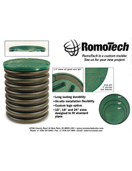 Romotech Septic Cover Lids